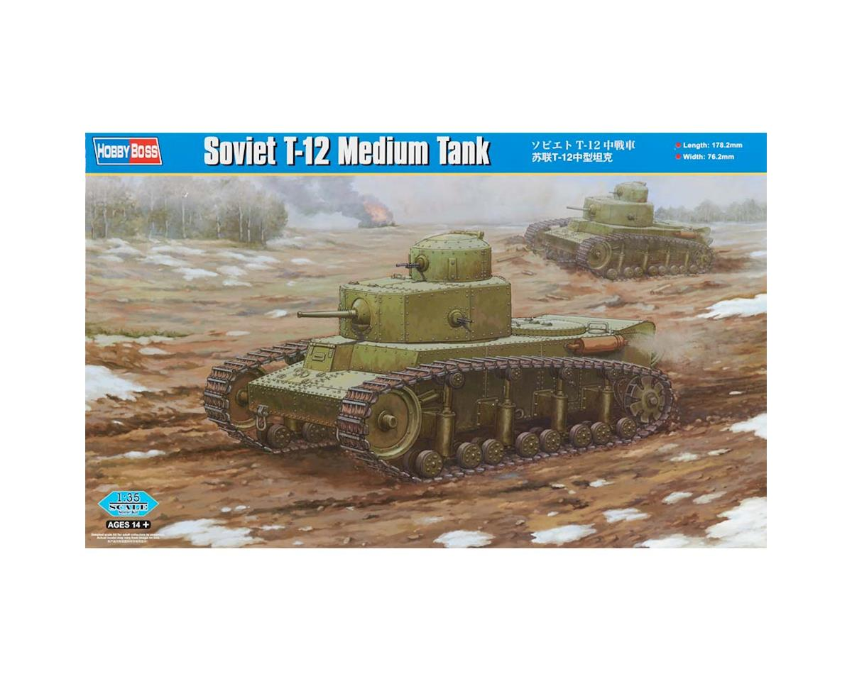 HY83887 1/35 Soviet T-12 Medium Tank by Hobby Boss