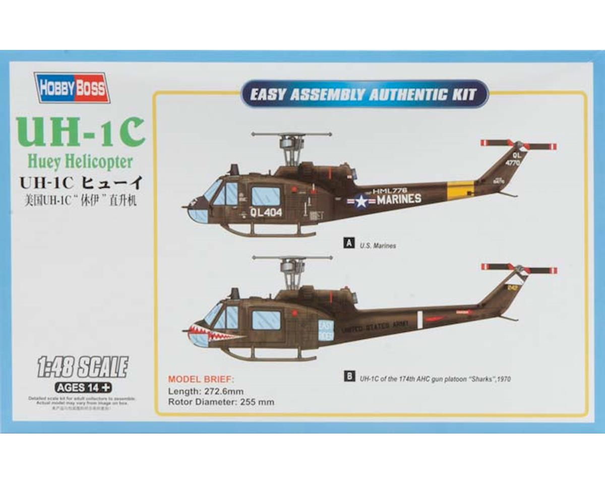 HY85803 1/48 UH-1C Huey Helicopter by Hobby Boss