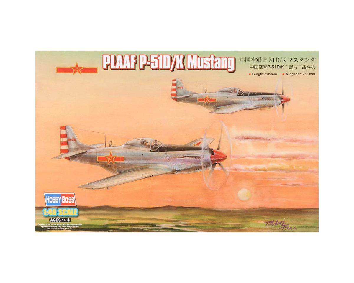 Hobby Boss HY85807 1/48 PLAAF P-51D/K Mustang Fighter