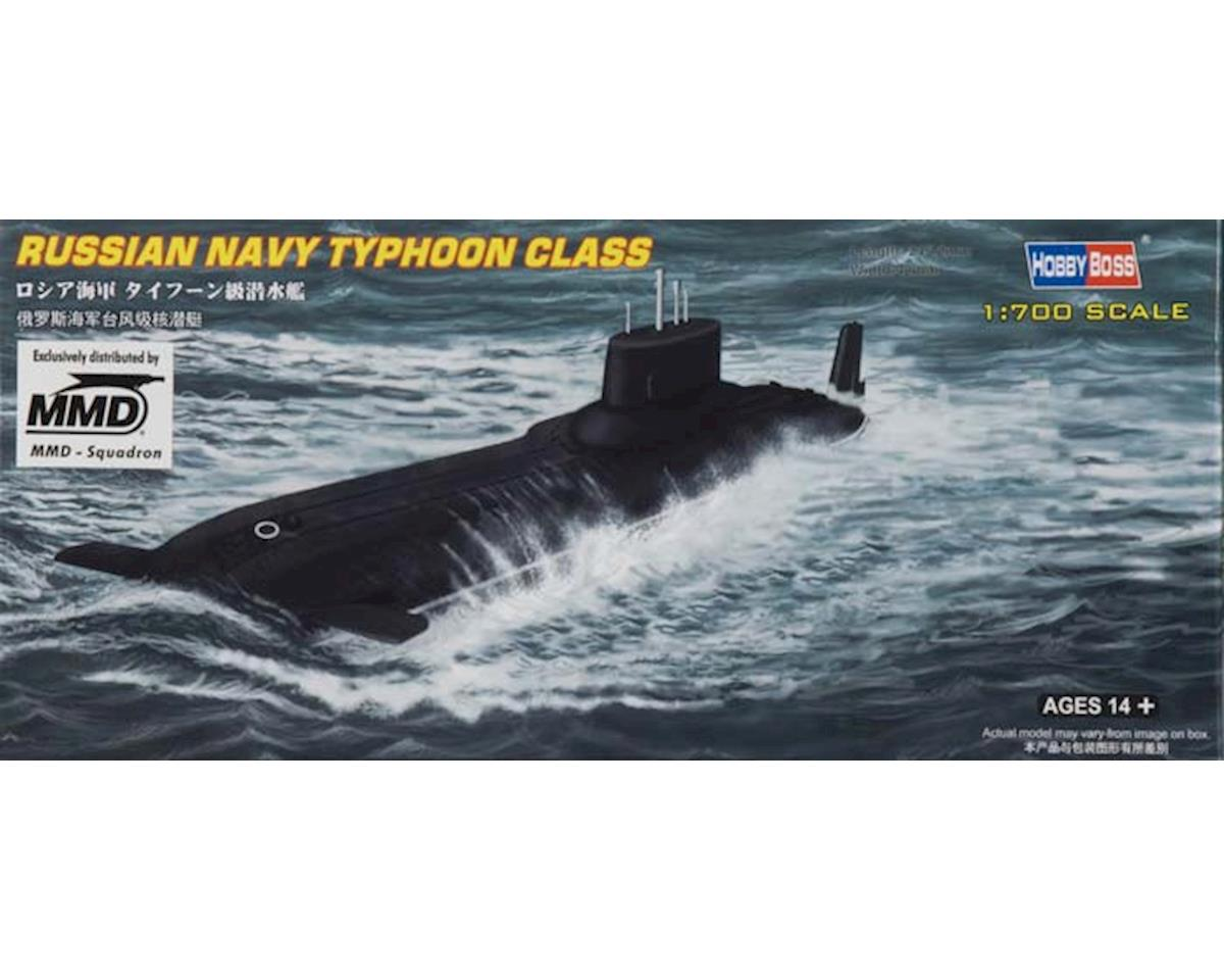 Hobby Boss   1/700 Russian Navy Ssgn Typhoon Class Submarine