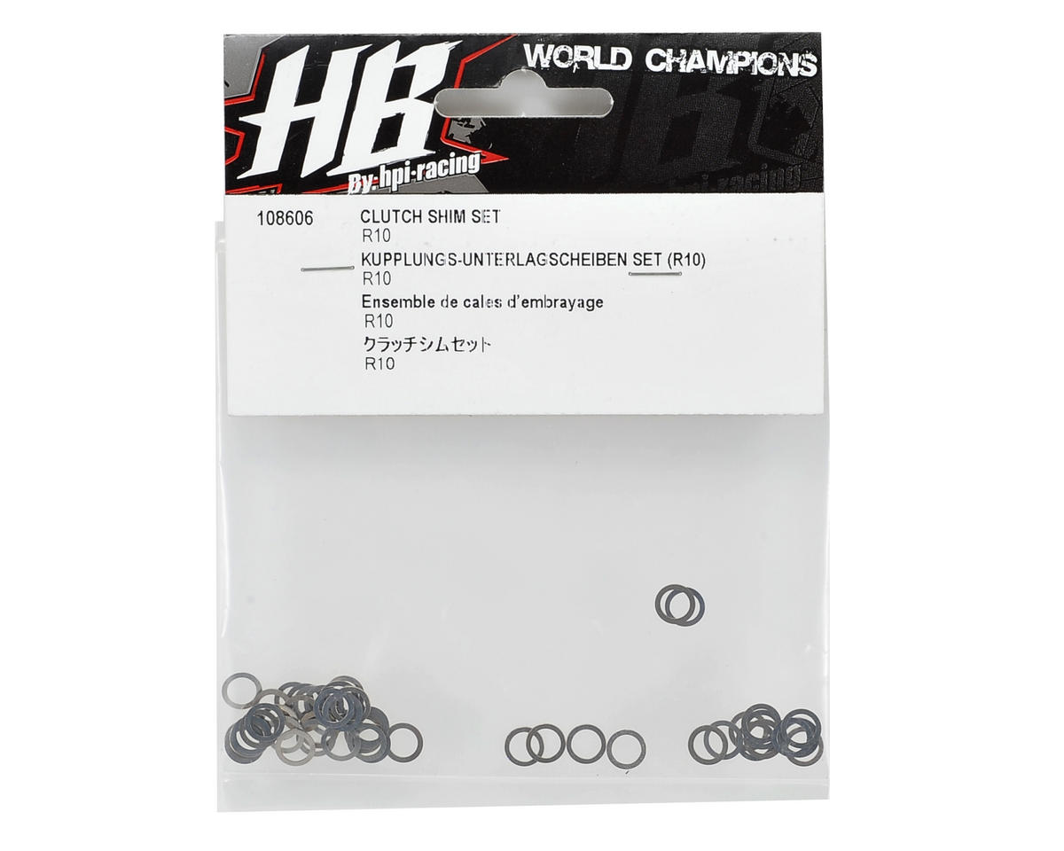 HB Racing Clutch Shim Set (10)