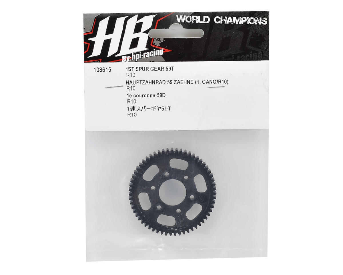 HB Racing 1st Spur Gear (59T)