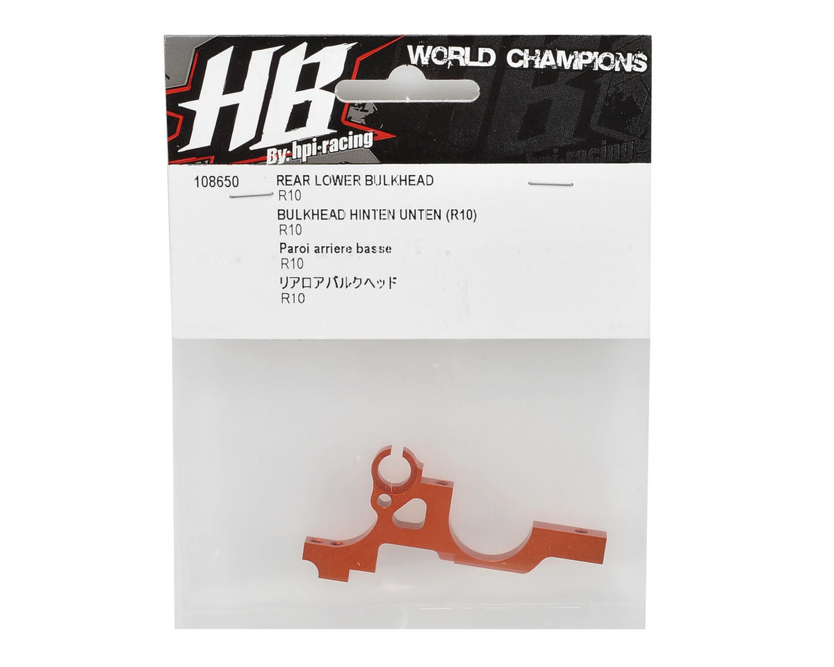 HB Racing Rear Lower Bulkhead