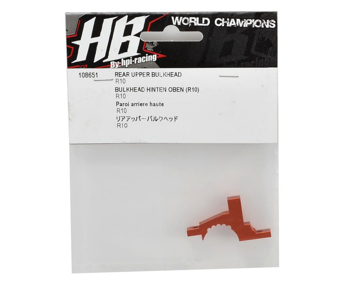 HB Racing Rear Upper Bulkhead