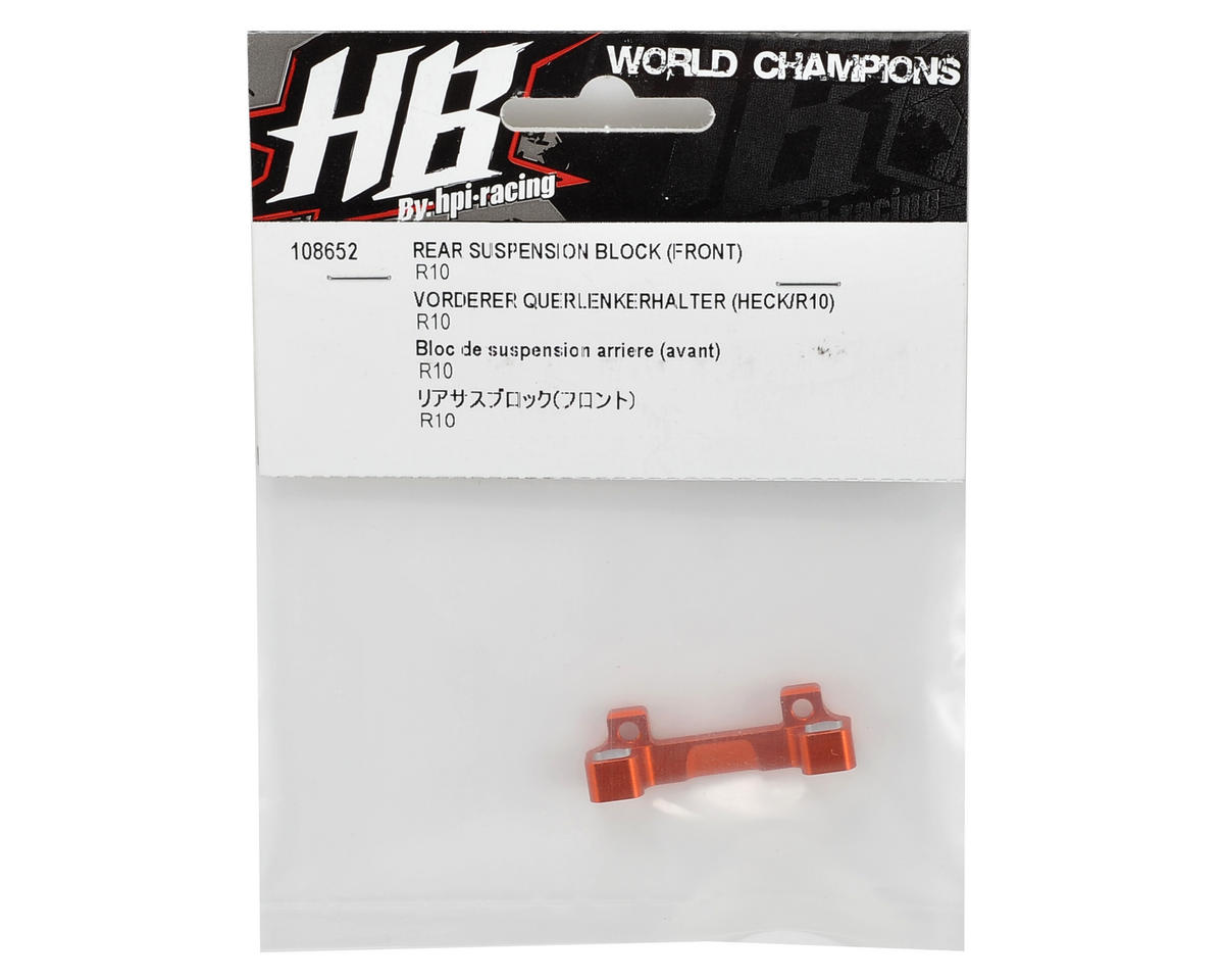 HB Racing Front-Rear Suspension Block