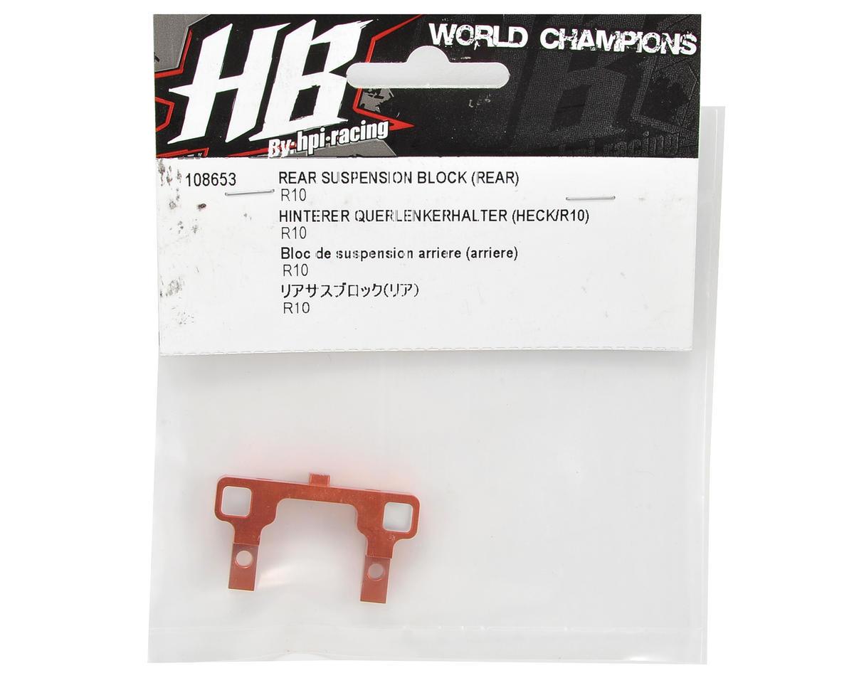 HB Racing Rear-Rear Suspension Block