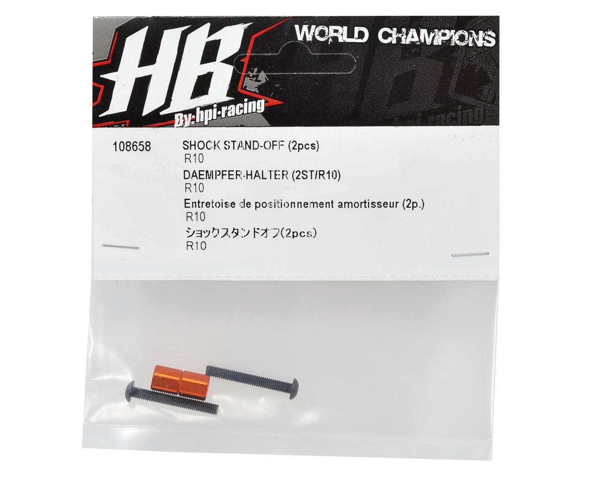 HB Racing Shock Standoff Set (2)