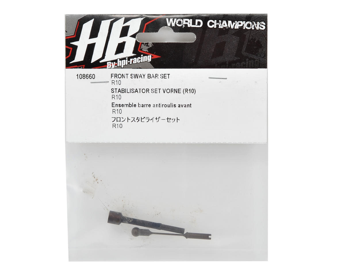 HB Racing Front Sway Bar Set