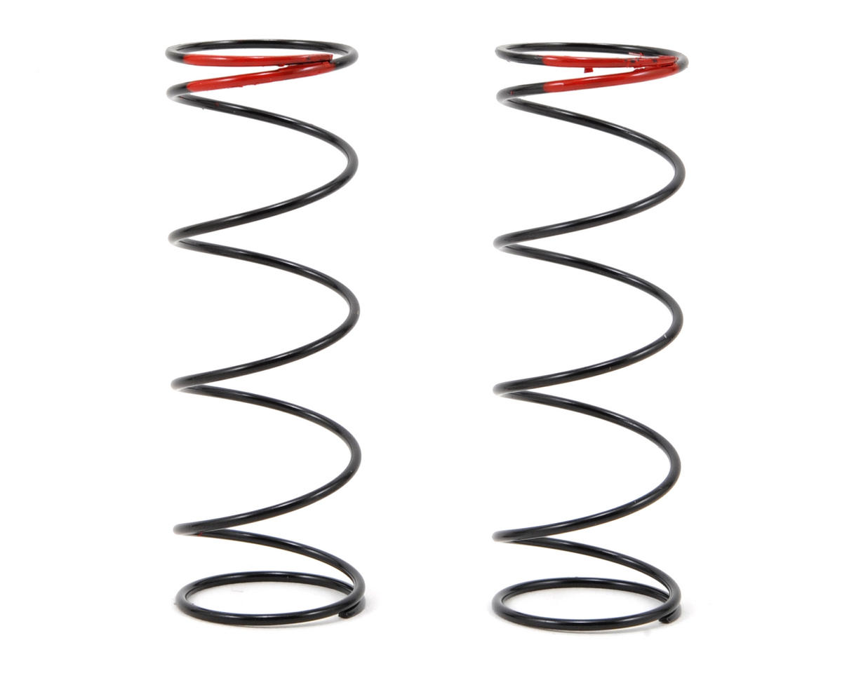 68mm Big Bore Shock Spring (Red) (2) (86.1gF) by HB Racing