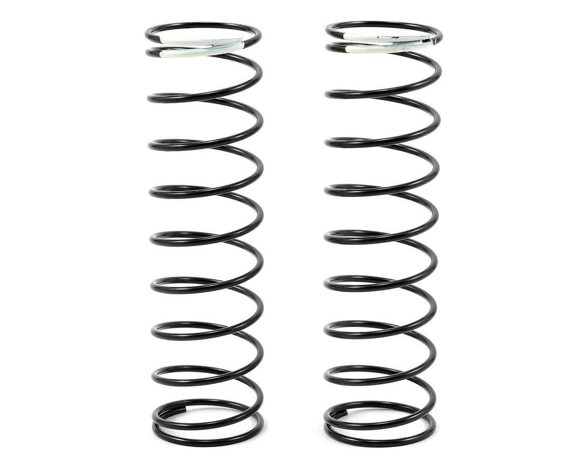 HB Racing 83mm Big Bore Shock Spring (White) (2) (57.9gF)