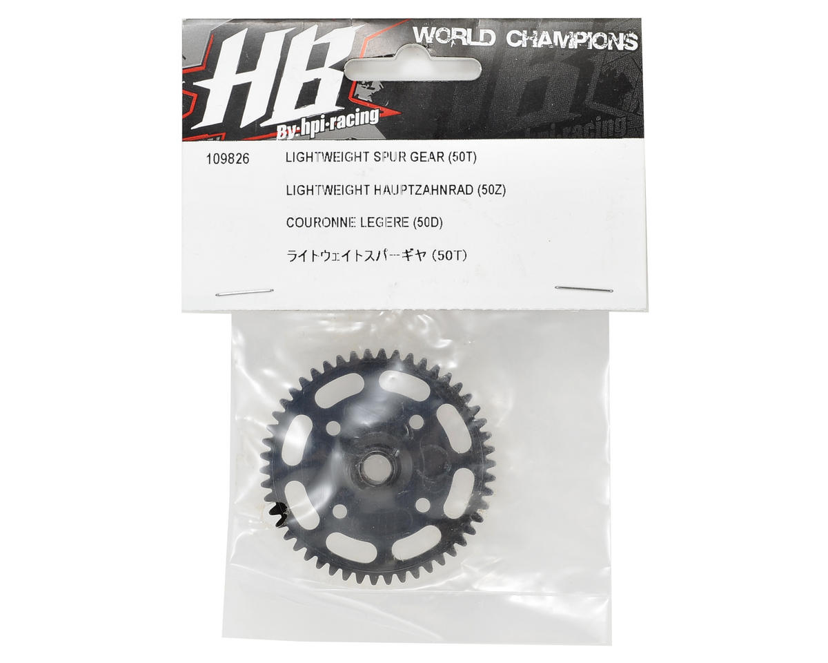 HB Racing Lightweight Spur Gear (50T)