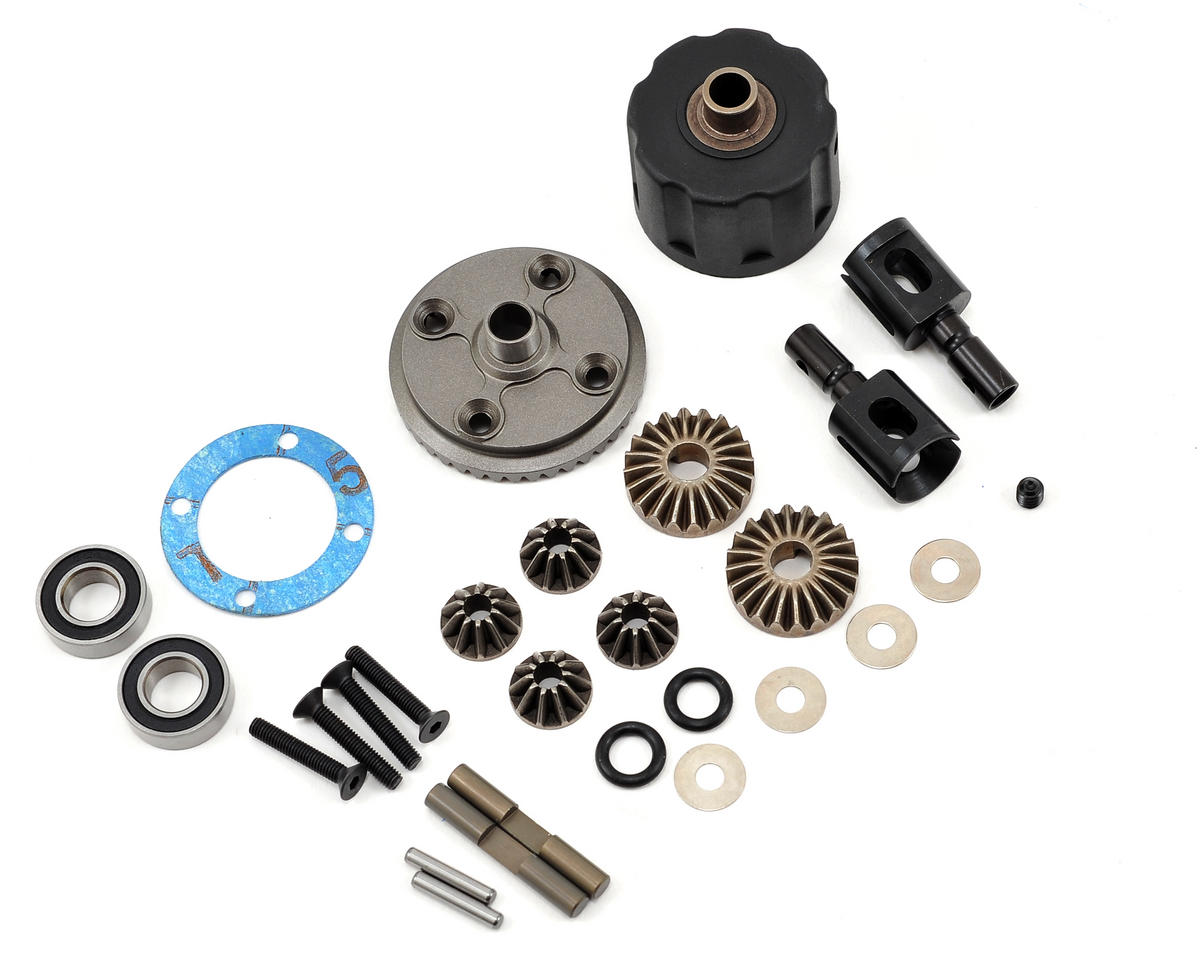 HB Racing Lightweight Front/Rear Differential Set