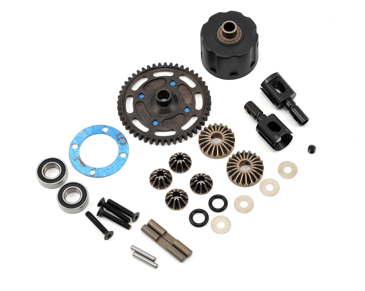 HB Racing Lightweight Center Differential Set (48T)