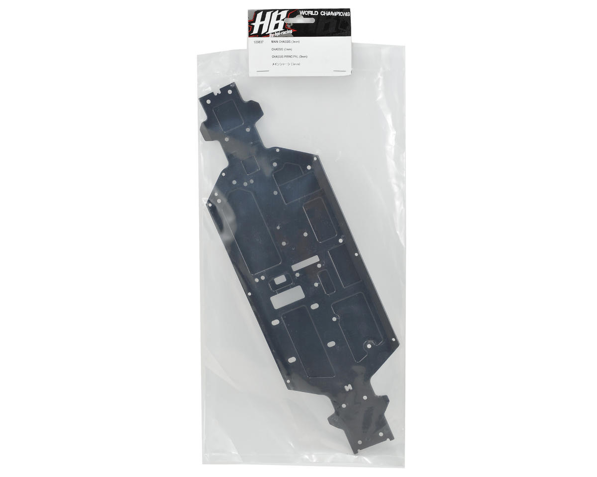 HB Racing 3mm Aluminum Main Chassis