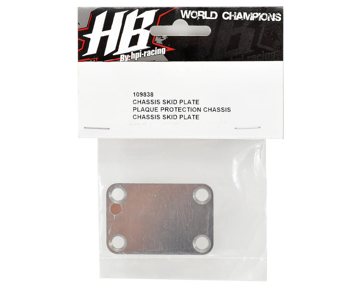 HBS109838 HB Racing Chassis Skid Plate