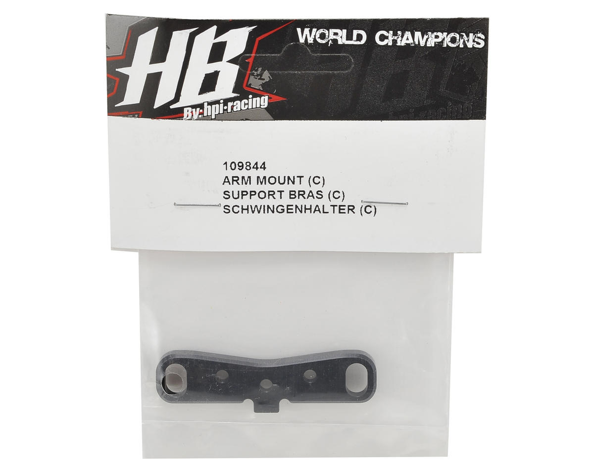 HB Racing Rear Arm Mount (C)