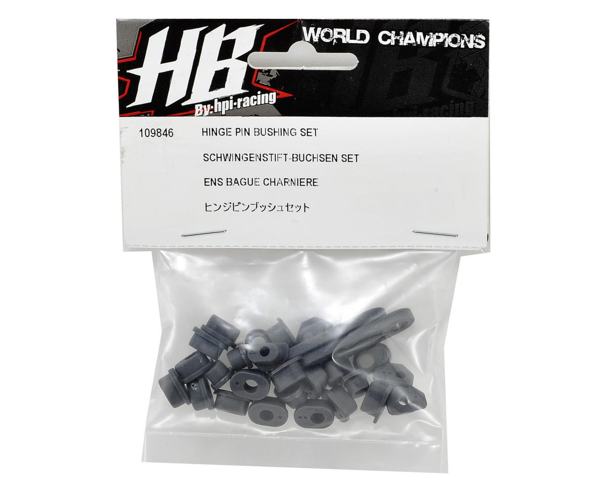 HB Racing Hinge Pin Bushing Set