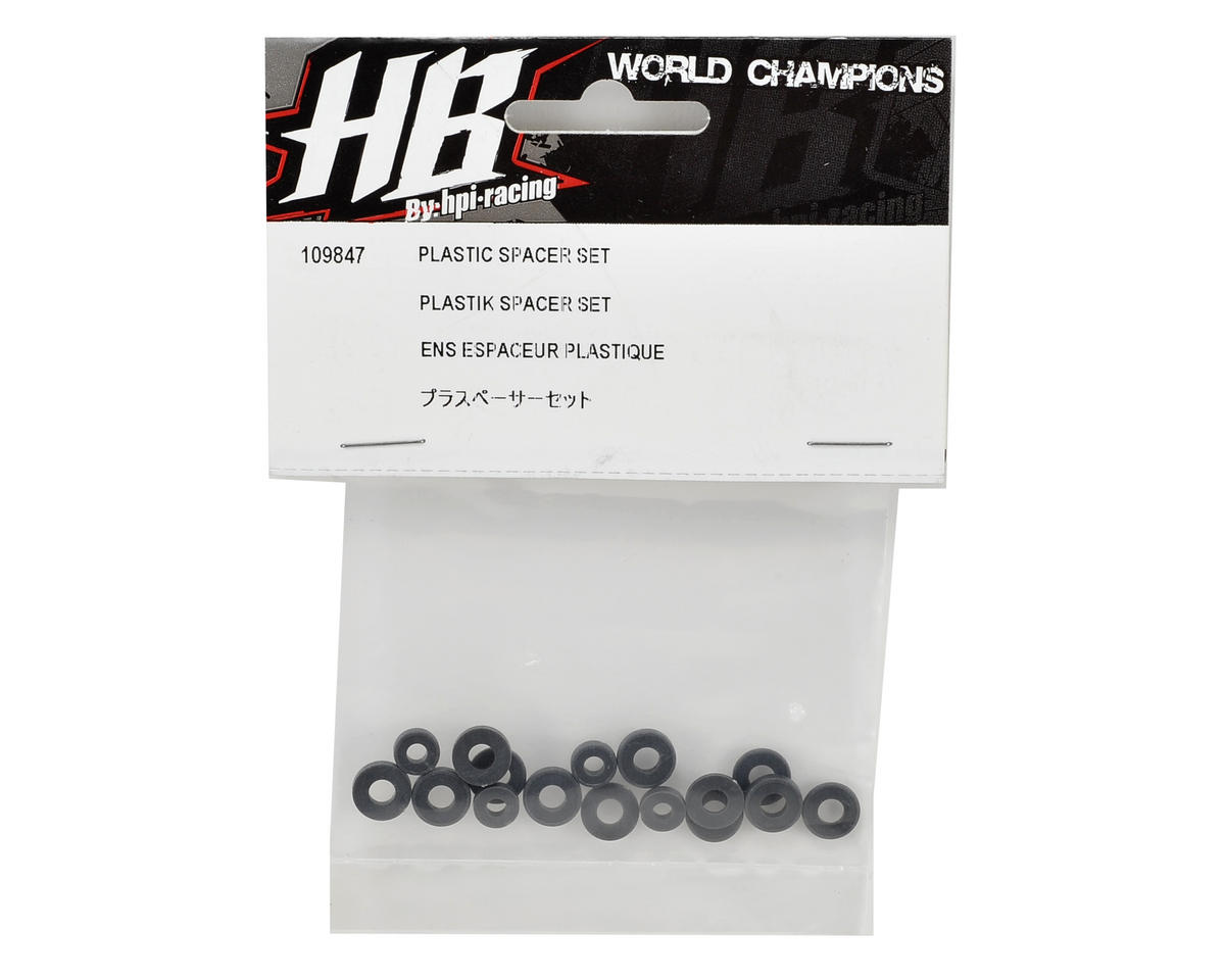 HB Racing Plastic Spacer Set