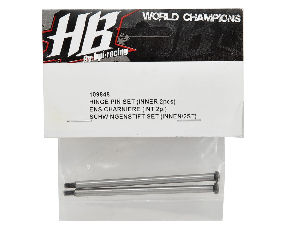 HB Racing Rear Inner Hinge Pin Set (2)