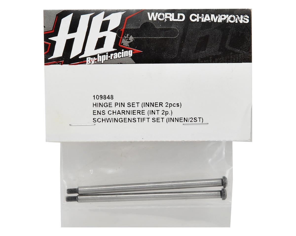 Rear Inner Hinge Pin Set (2) by HB Racing