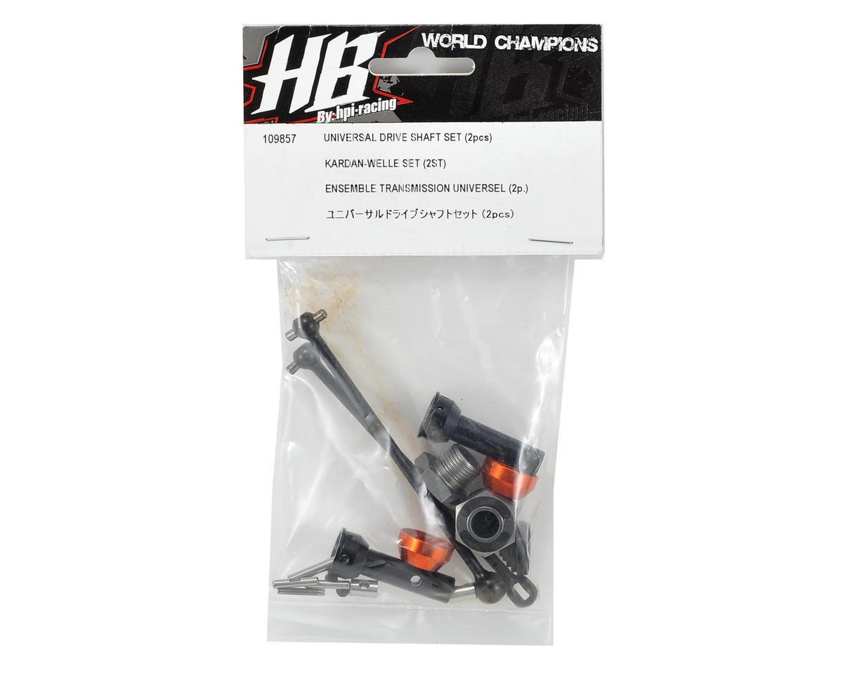 HB Racing Universal Driveshaft Set (2)