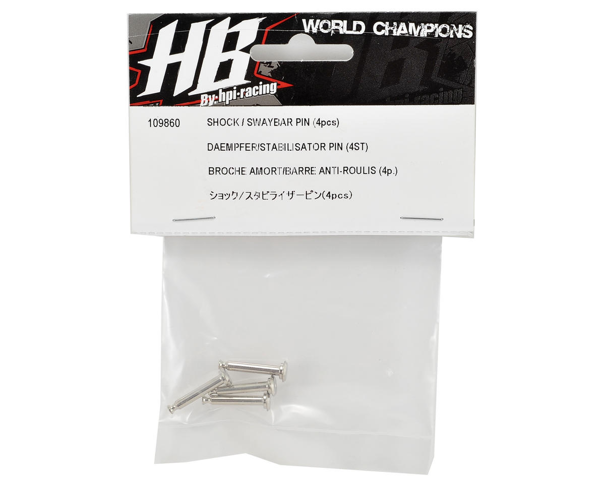 Shock & Sway Bar Pin (4) by HB Racing