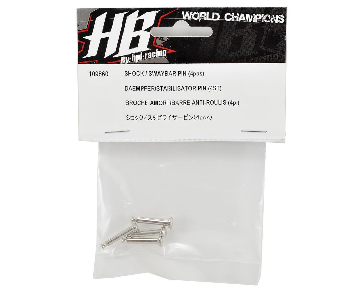 HB Racing Shock & Sway Bar Pin (4)