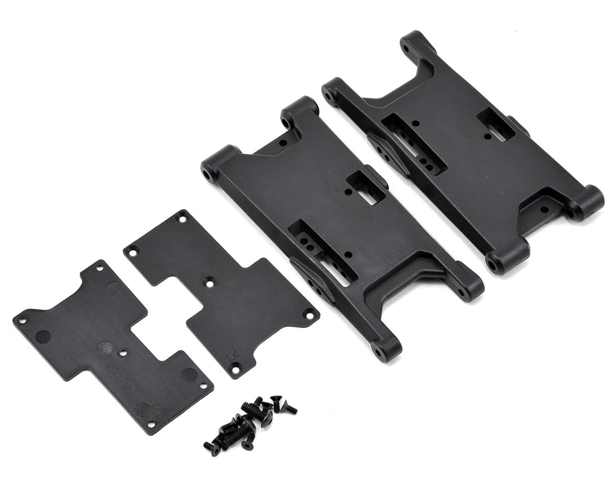 HB Racing Rear Suspension Arm Set (Hot Bodies D812)
