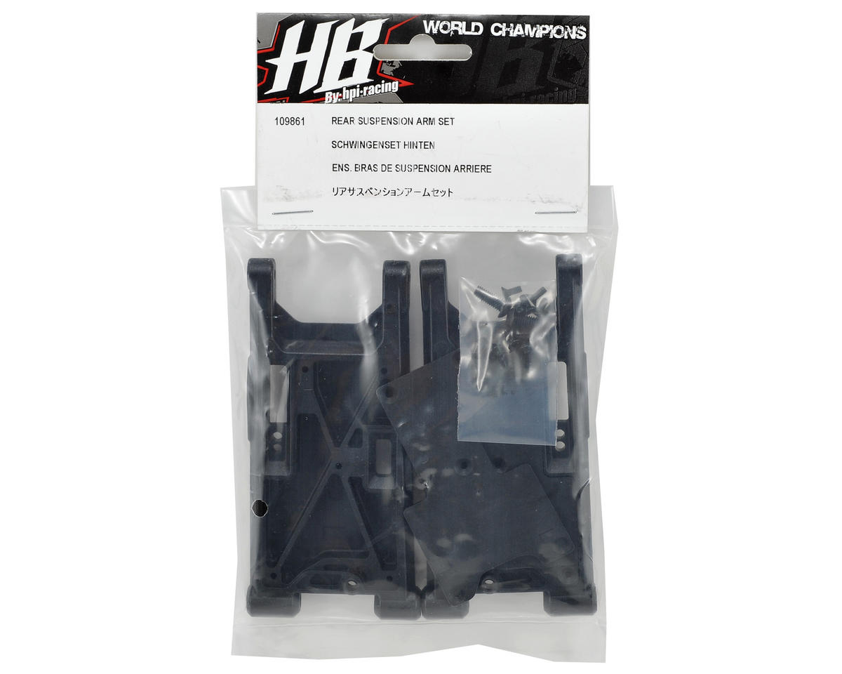 HB Racing Rear Suspension Arm Set