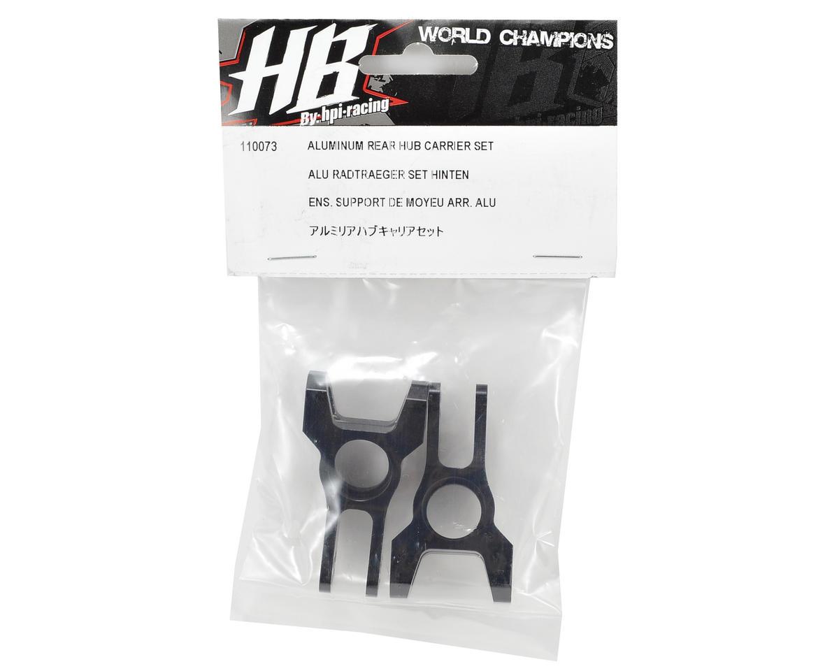 HB Racing Aluminum Rear Hub Carrier Set