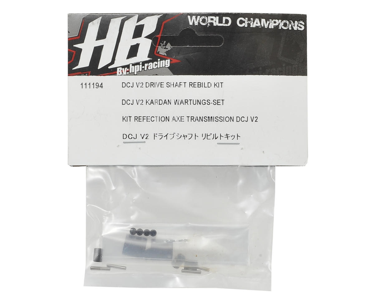 HB Racing DCJ V2 Drive Shaft Rebild Kit