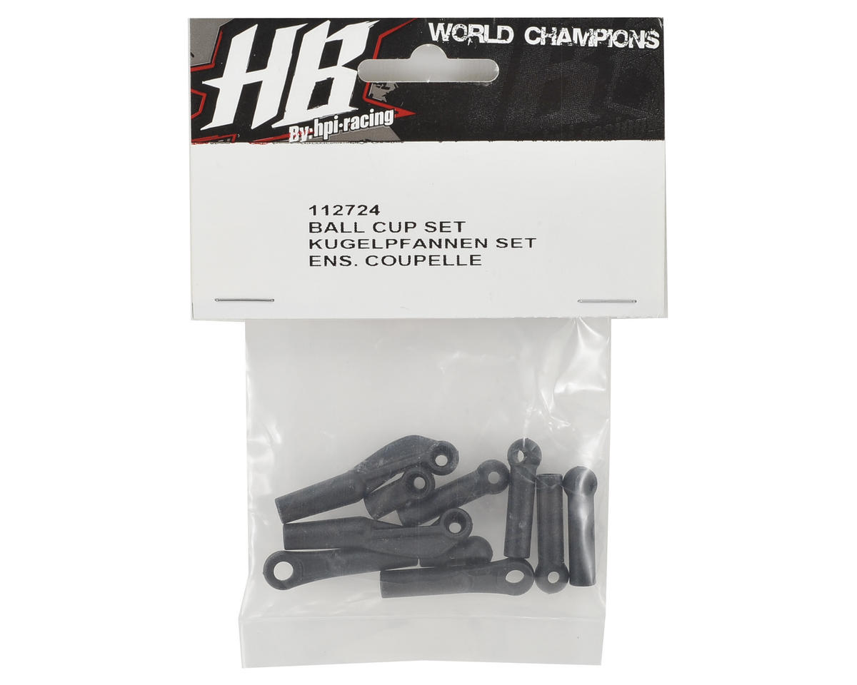 HB Racing Ball Cup Set