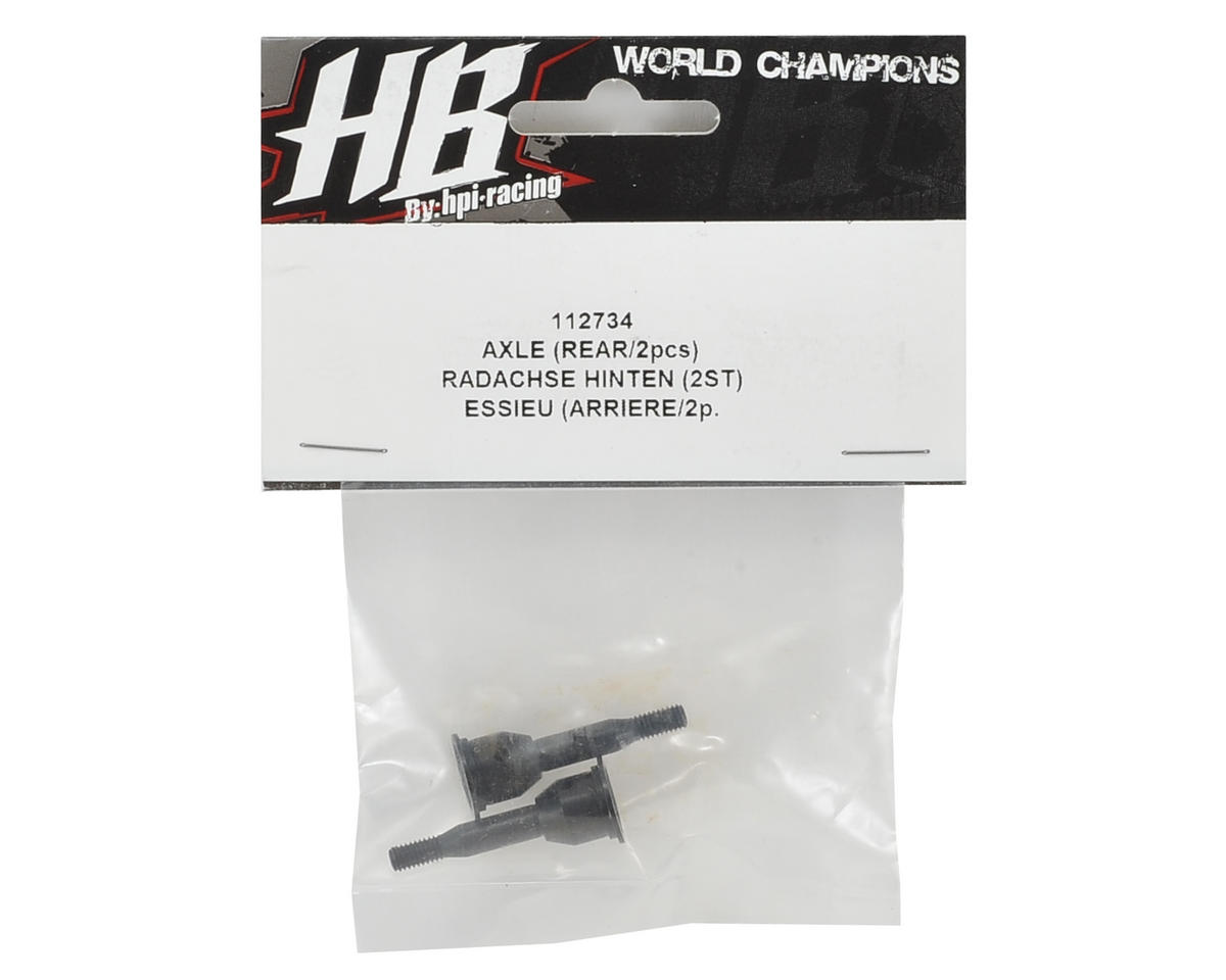 HB Racing Rear Axle (2)