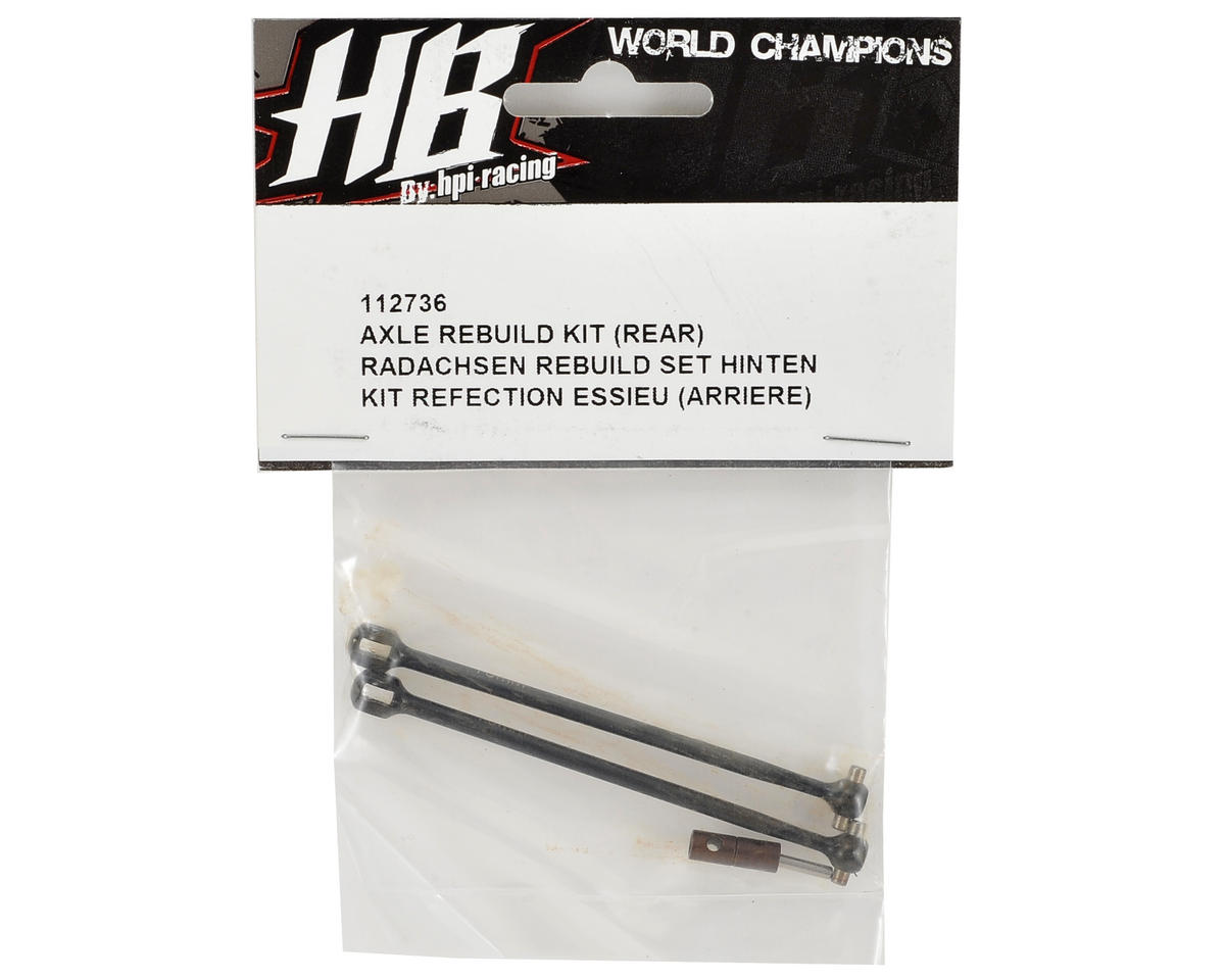 HB Racing Rear Axle Rebuild Kit