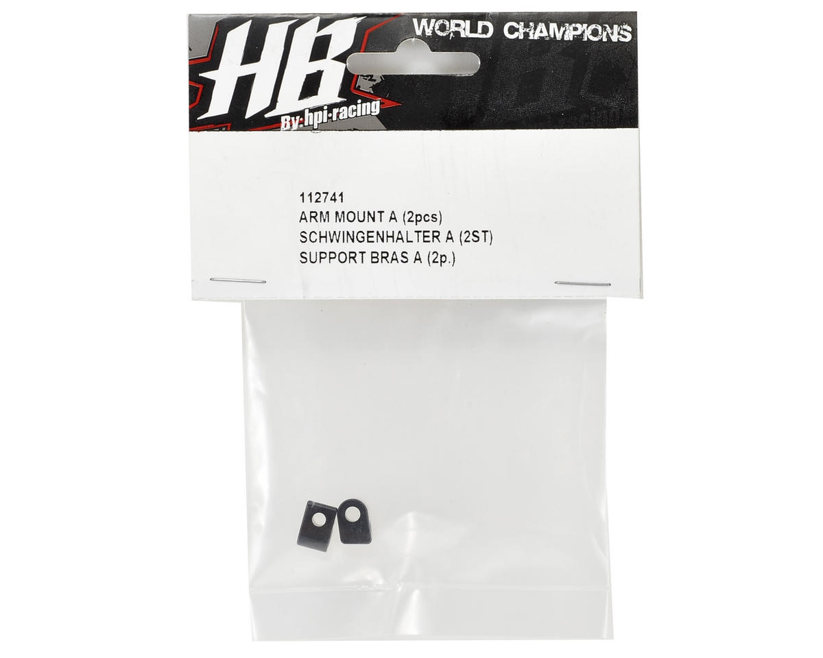 "HB Racing Arm Mount ""A"" (2)"