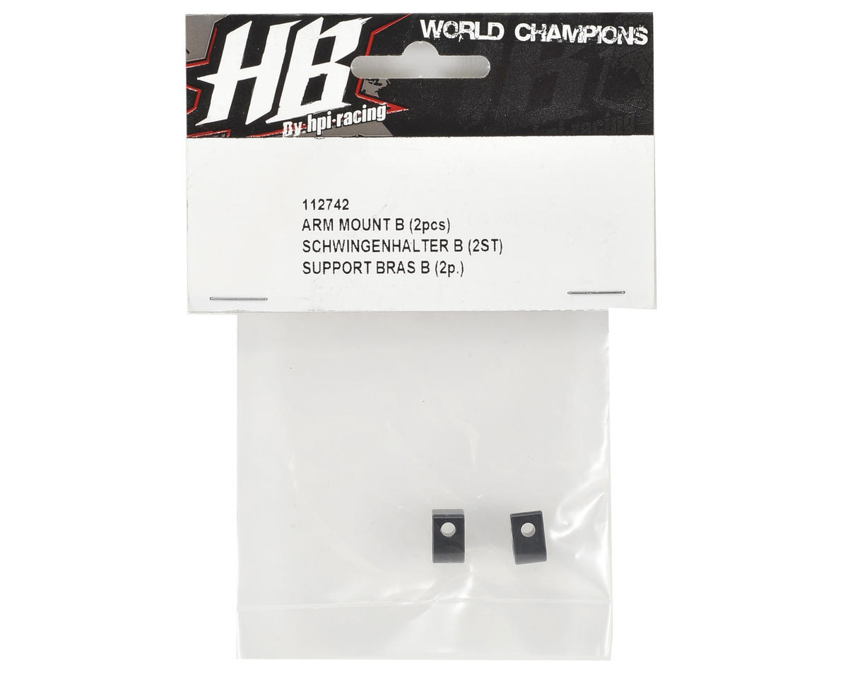 "HB Racing Arm Mount ""B"" (2)"