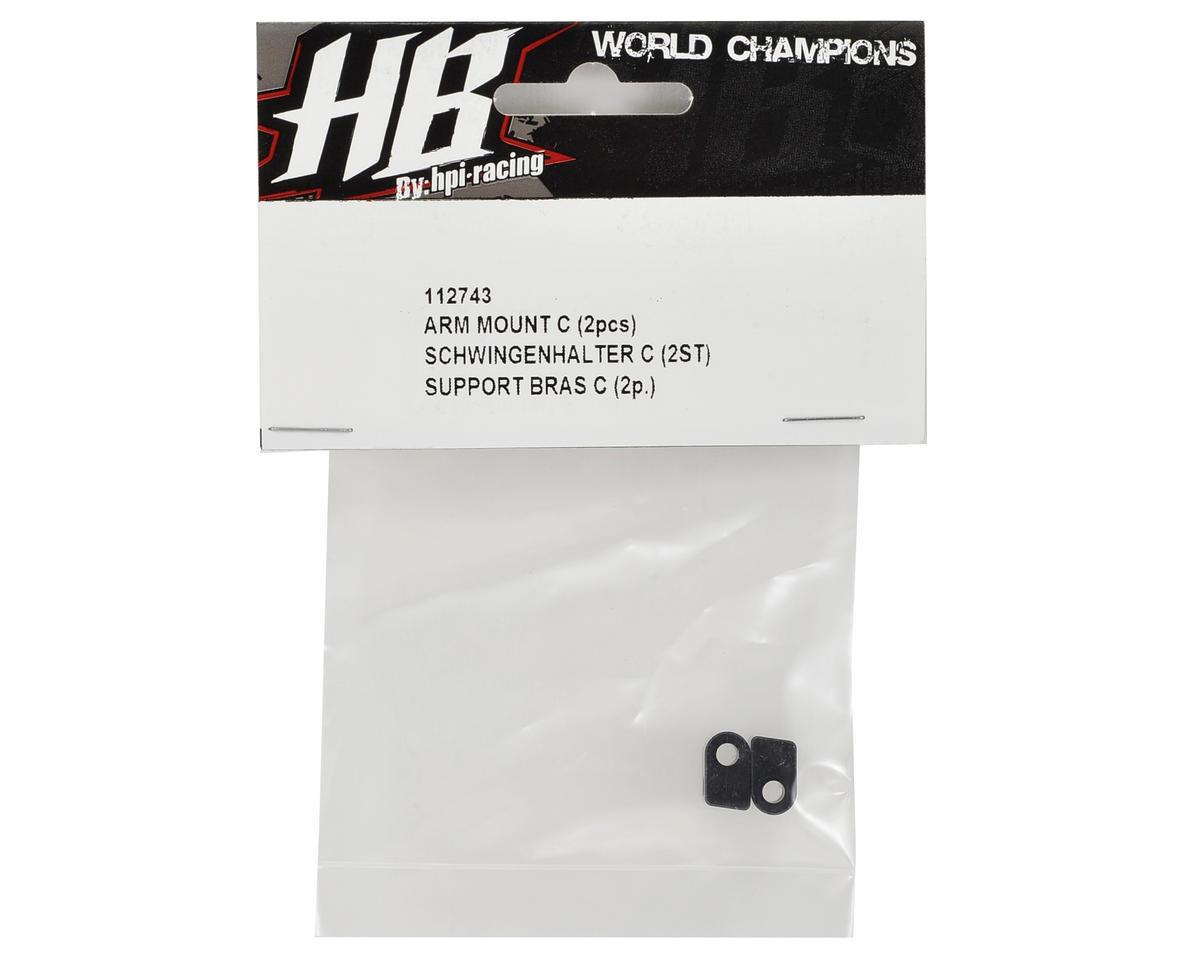 HB Racing Arm Mount C (2)