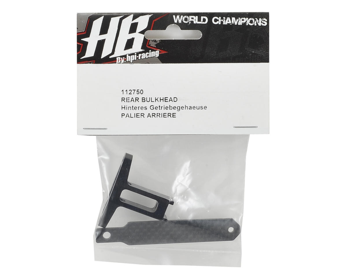 HB Racing Rear Bulkhead