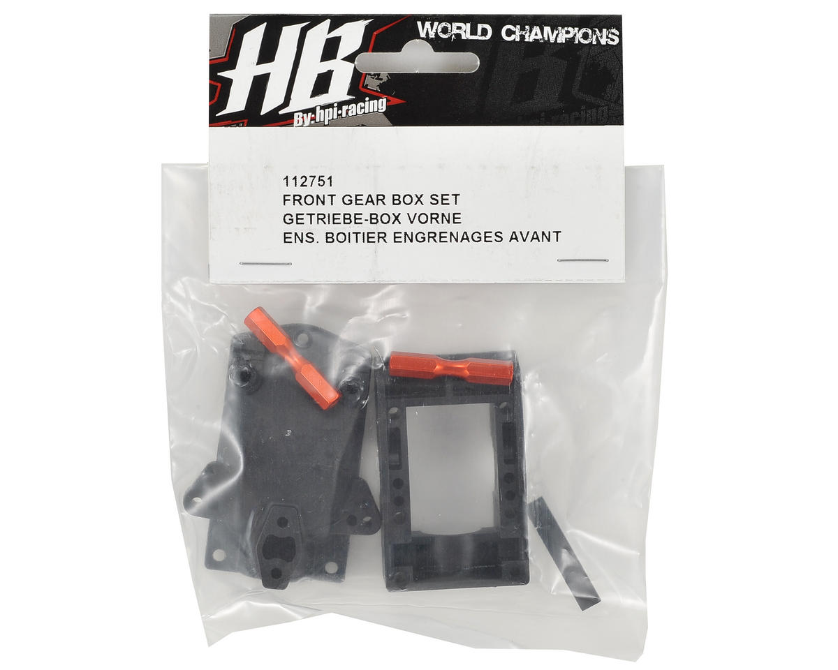 HB Racing Front Gear Box Set