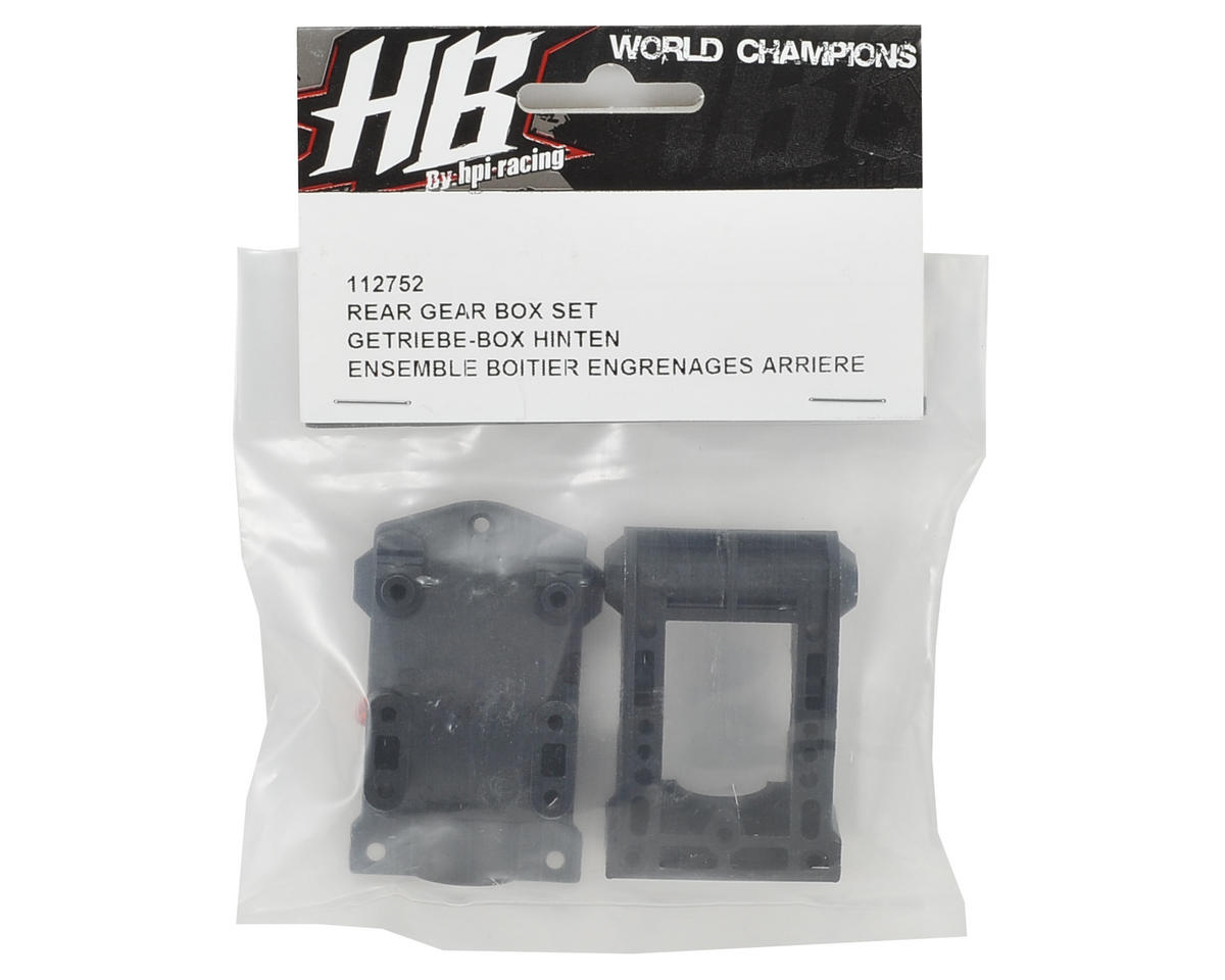 HB Racing Rear Gear Box Set