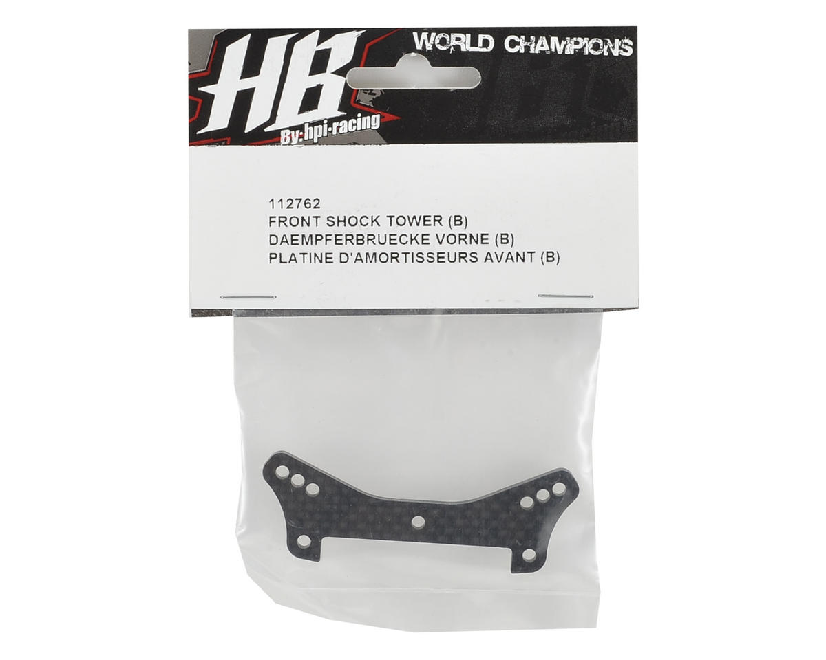 "HB Racing Front Shock Tower ""B"""