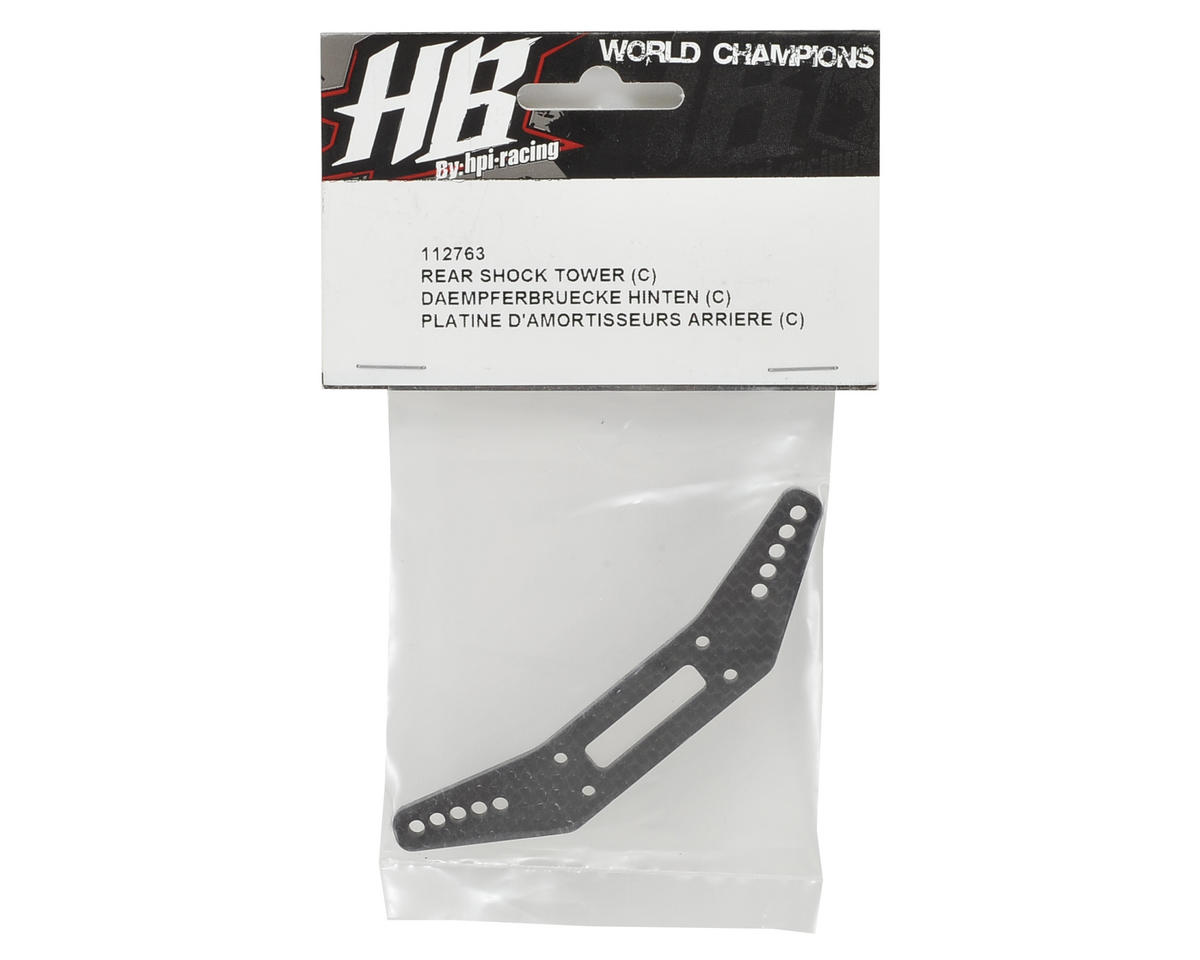 HB Racing Rear Shock Tower (C)