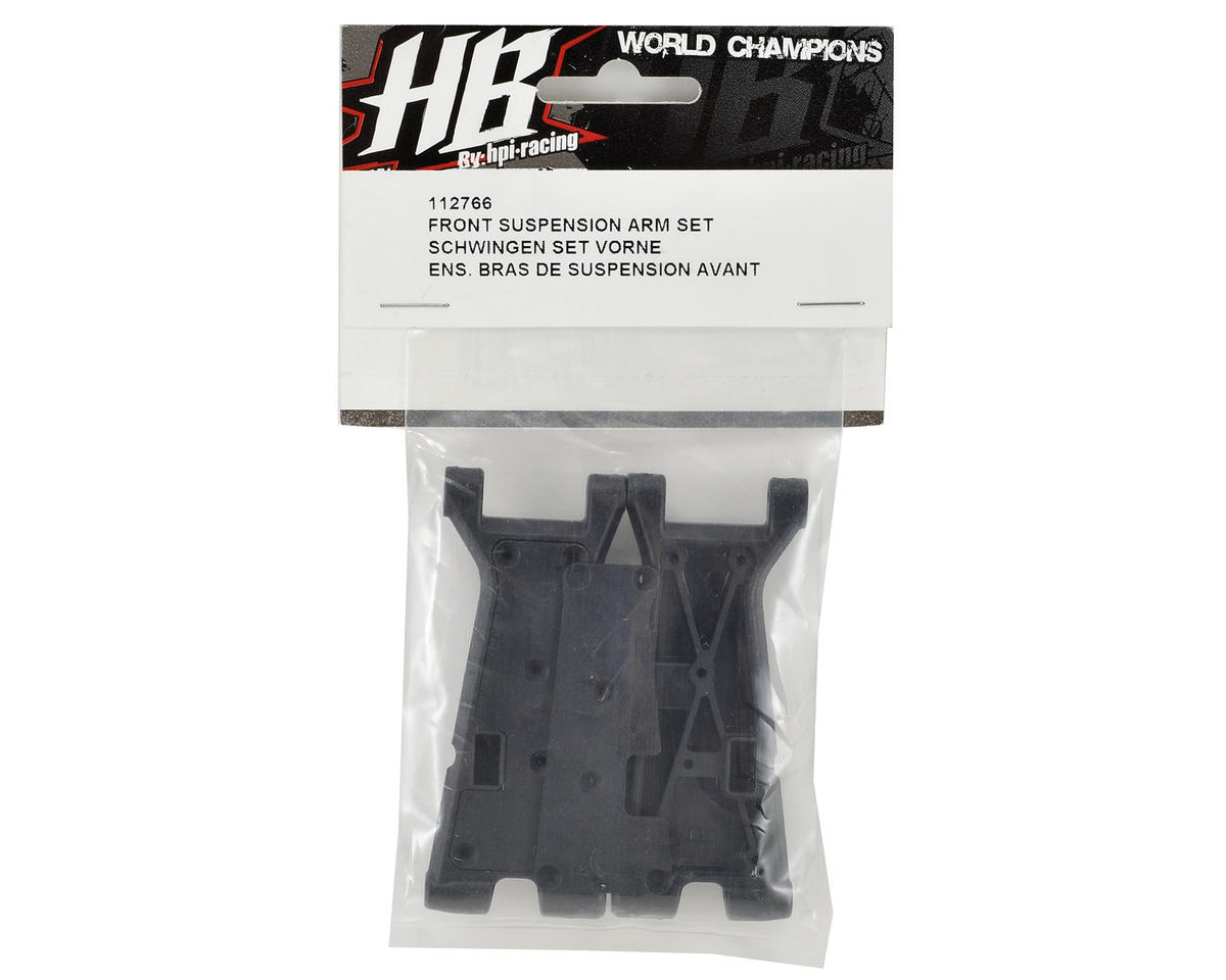 HB Racing Front Suspension Arm Set