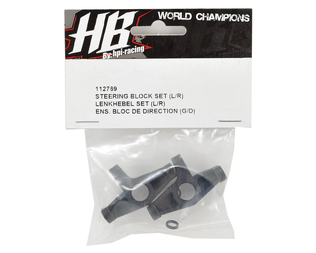 HB Racing Steering Block Set