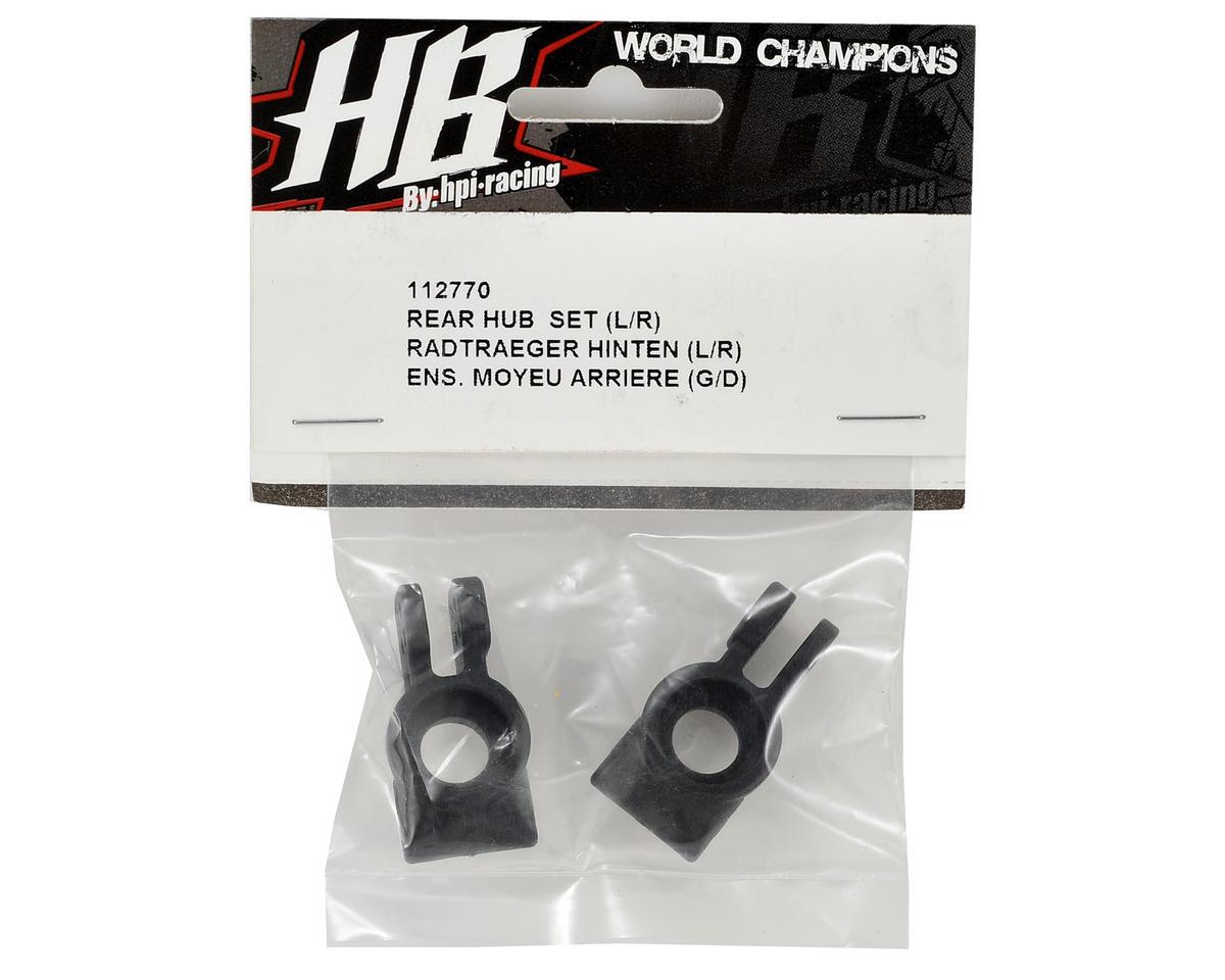 HB Racing Rear Hub Set