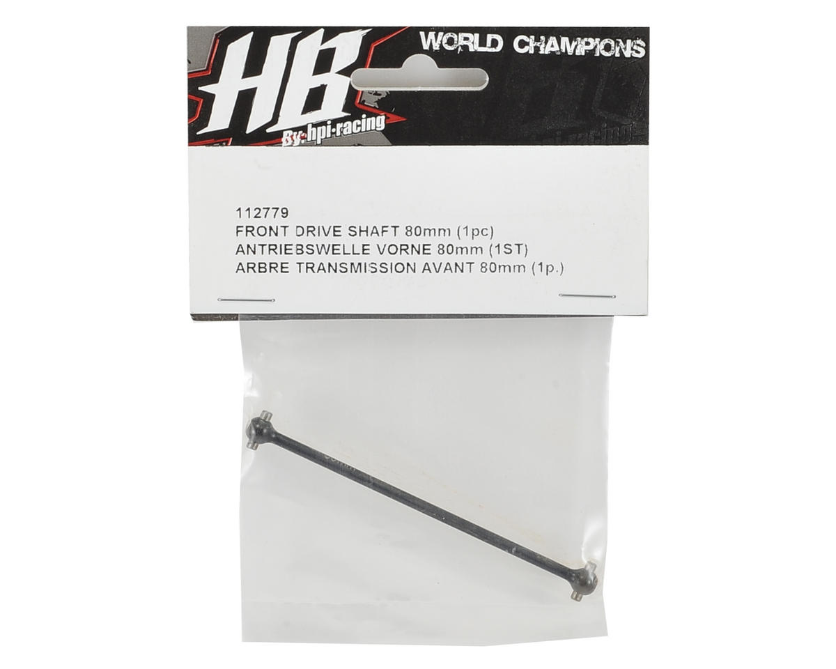 HB Racing 80mm Front Drive Shaft