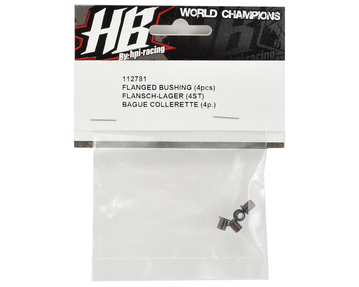 HB Racing Flanged Bushing (4)