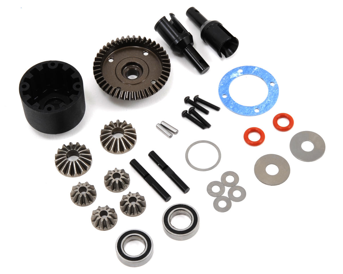 HB Racing Front Gear Differential Set