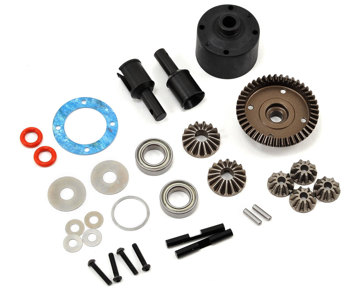 HB Racing Rear Gear Differential Set