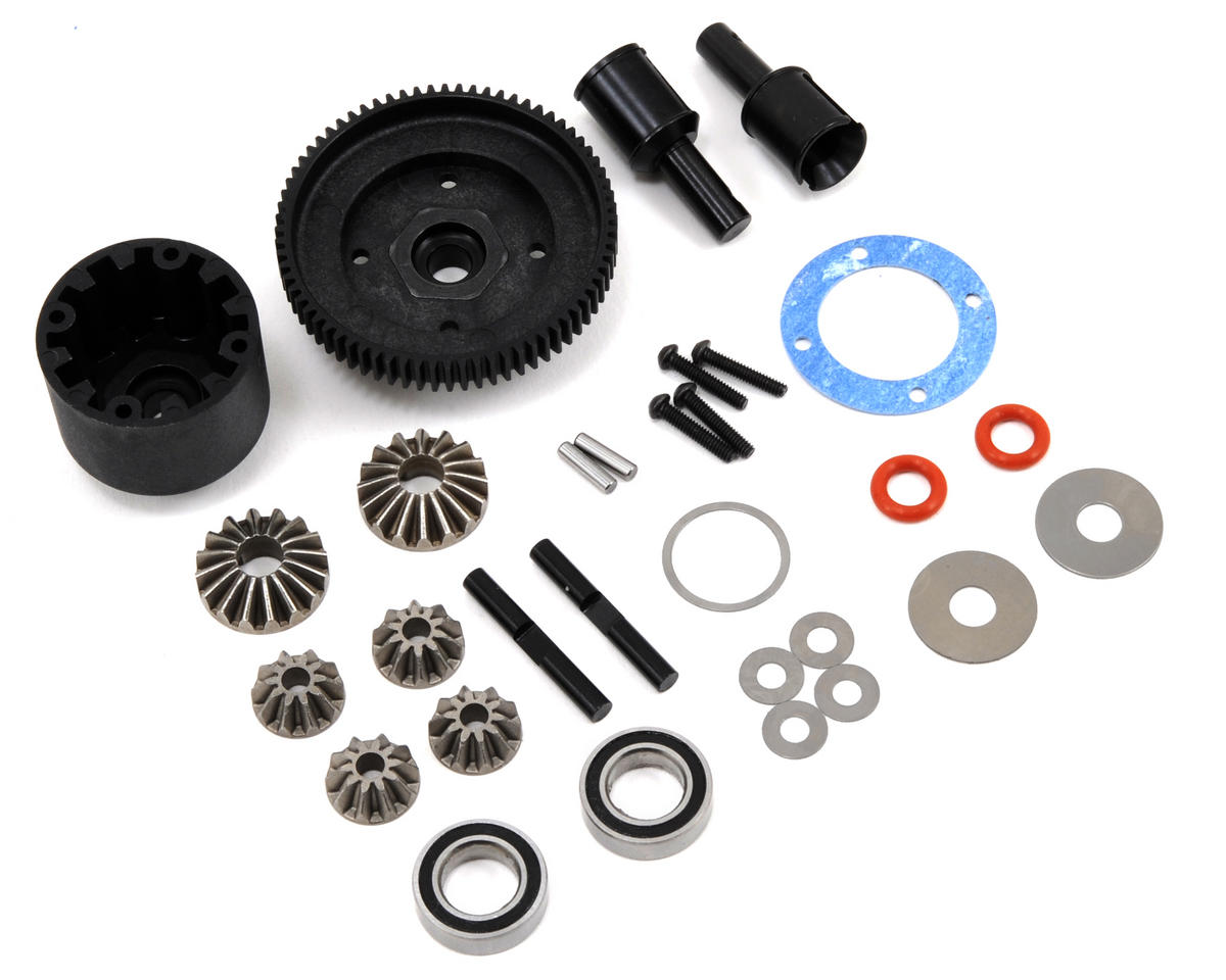 HB Racing Center Gear Differential Set (72T)